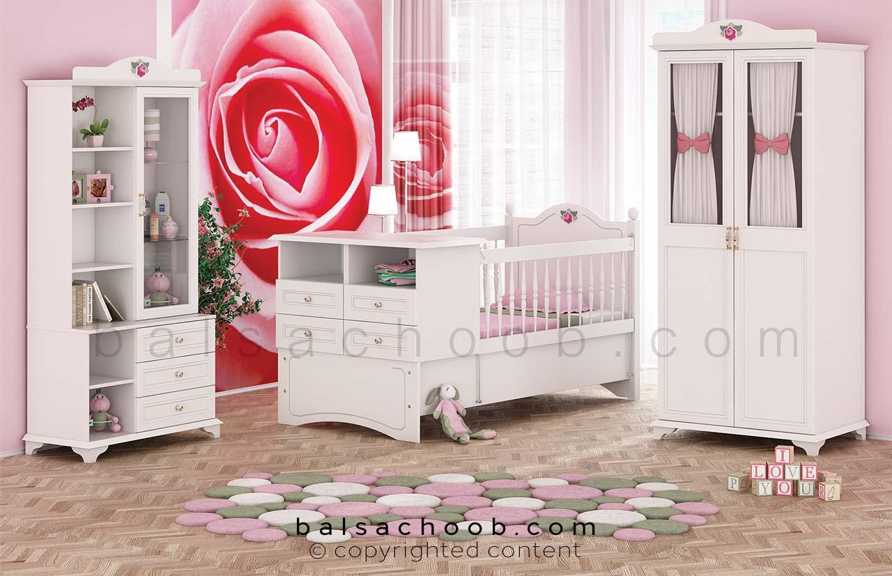 سرویس خواب نوزاد رز