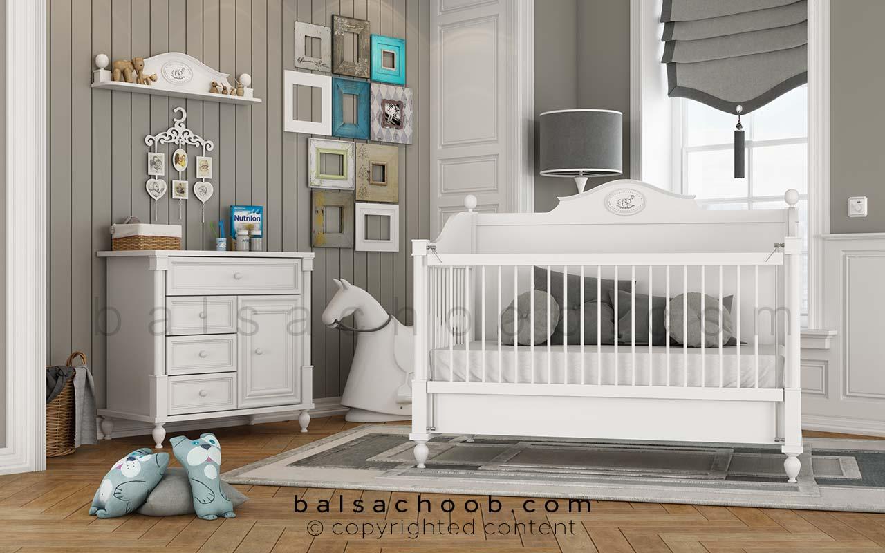سرویس خواب نوزاد پونی