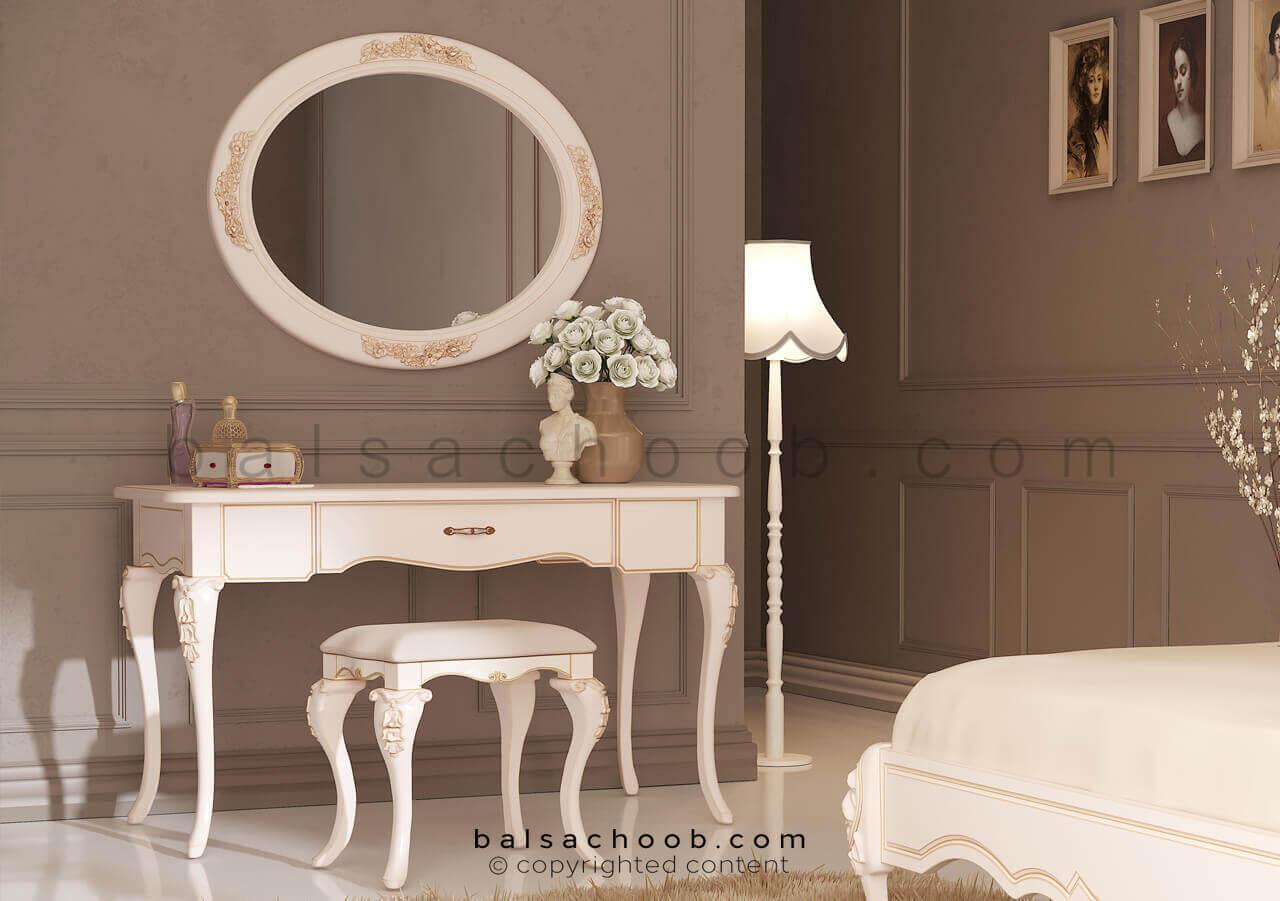 میز آرایش کلاسیک مدل کاترین