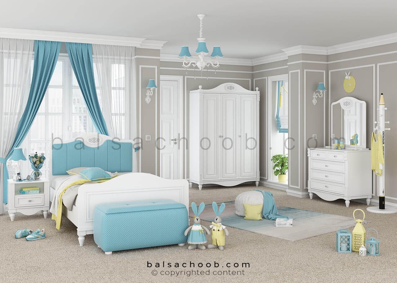 اتاق خواب نوجوان به سبک بالسا مدل لاوین