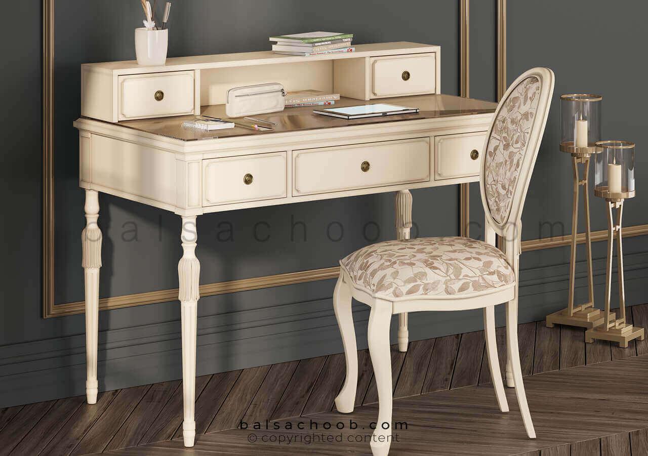 میز تحریر همراه با صندلی