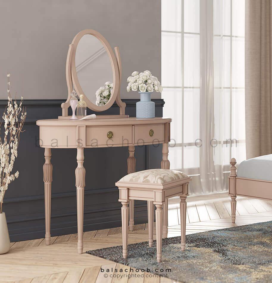 میز آرایش چوبی بالسا