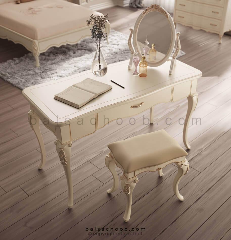 میز آرایش کلاسیک کاترین