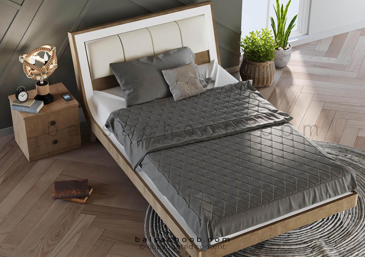 تخت یک نفره بزرگ