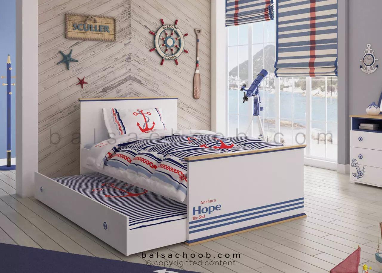 تخت خواب بازشو اسکالر بالسا