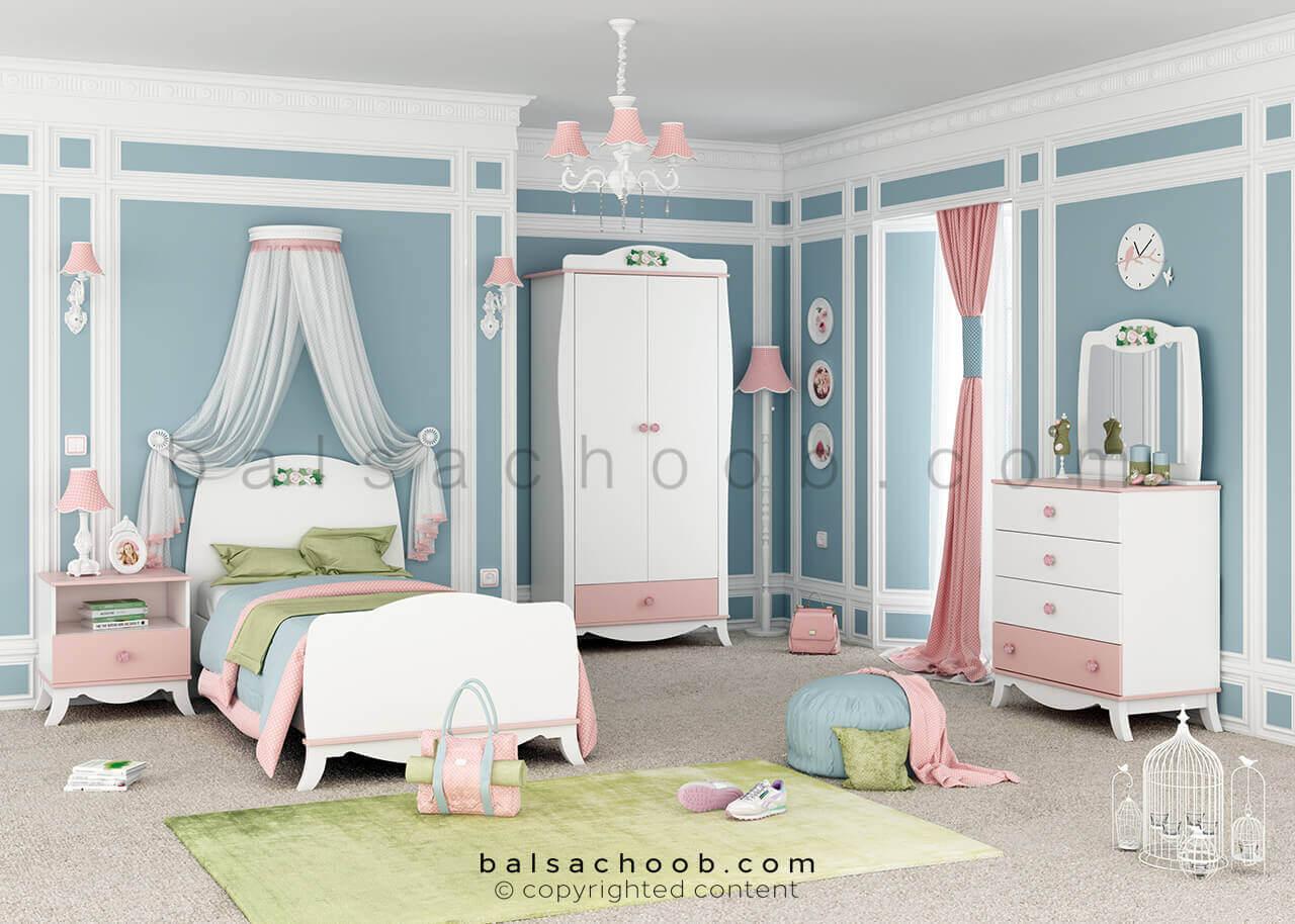 اتاق خواب نوجوان مدل لنی بالسا
