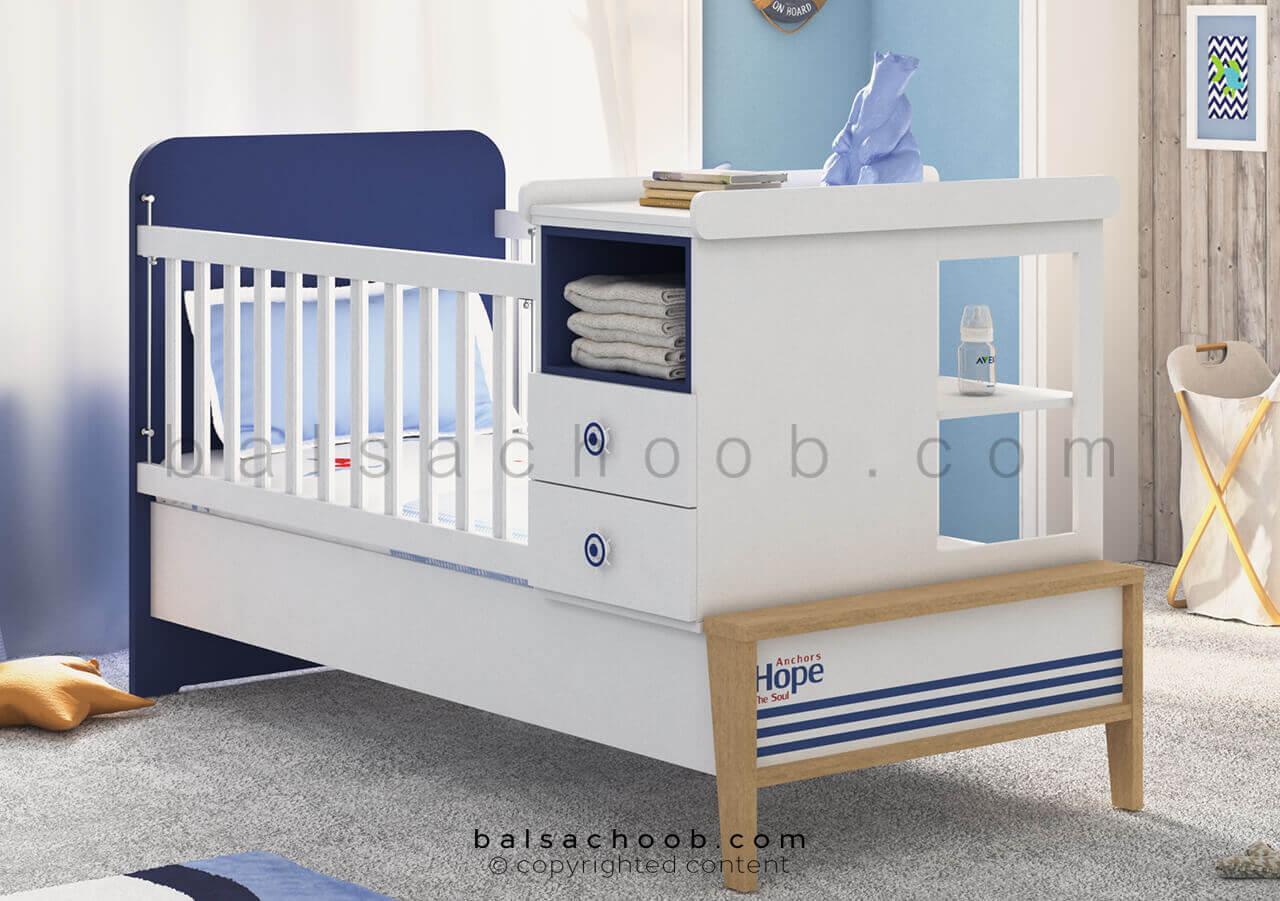 تخت نوزادی بالسا مدل اسکالر