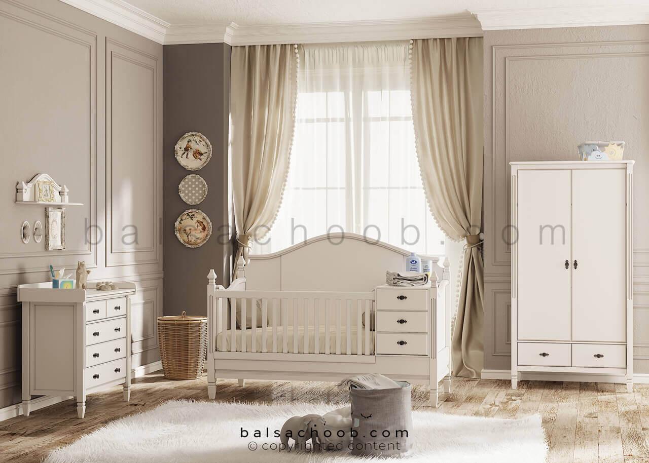 تختخواب نوزاد لیدوما