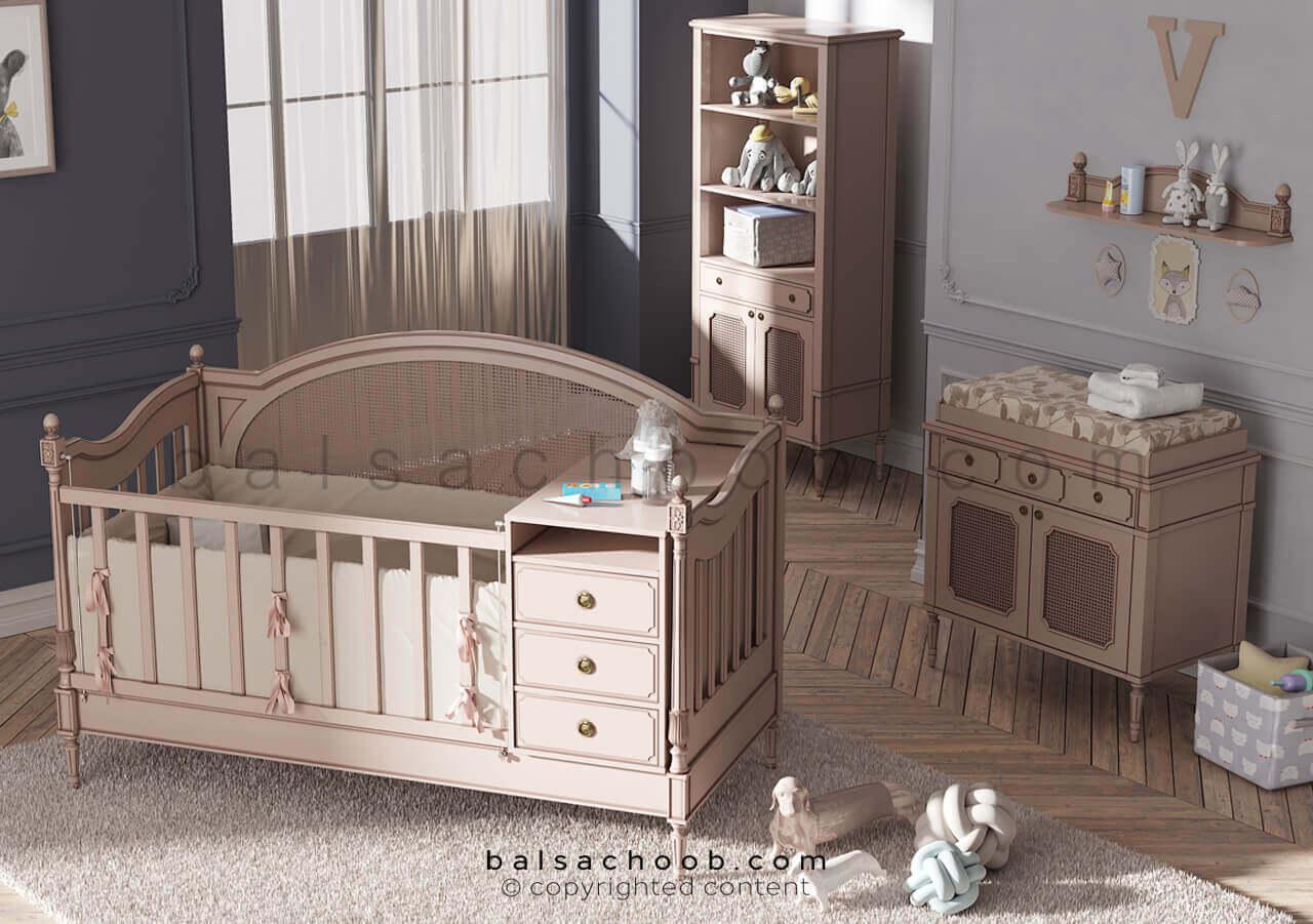 سرویس خواب نوزاد بالسا مدل والریا