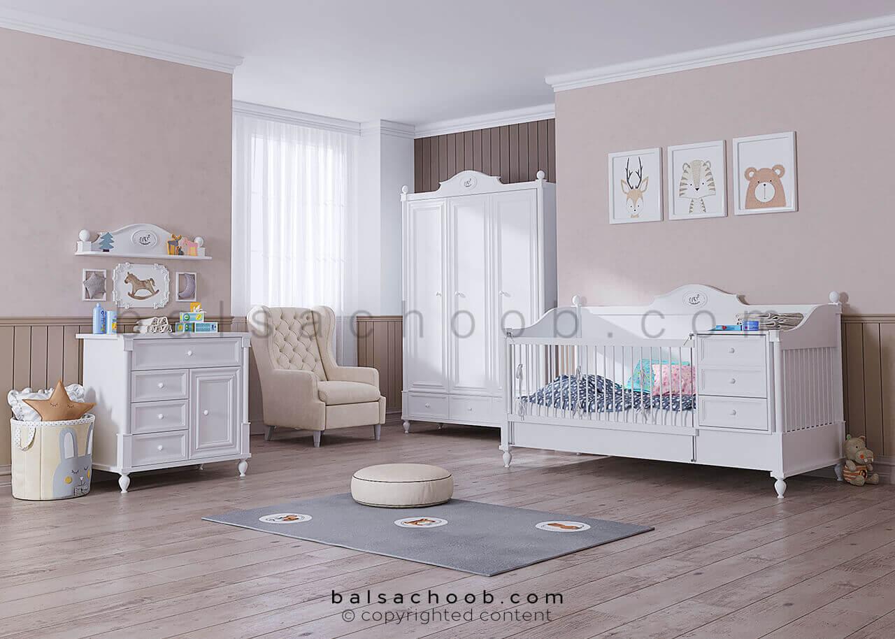 سرویس خواب نوزاد بالسا