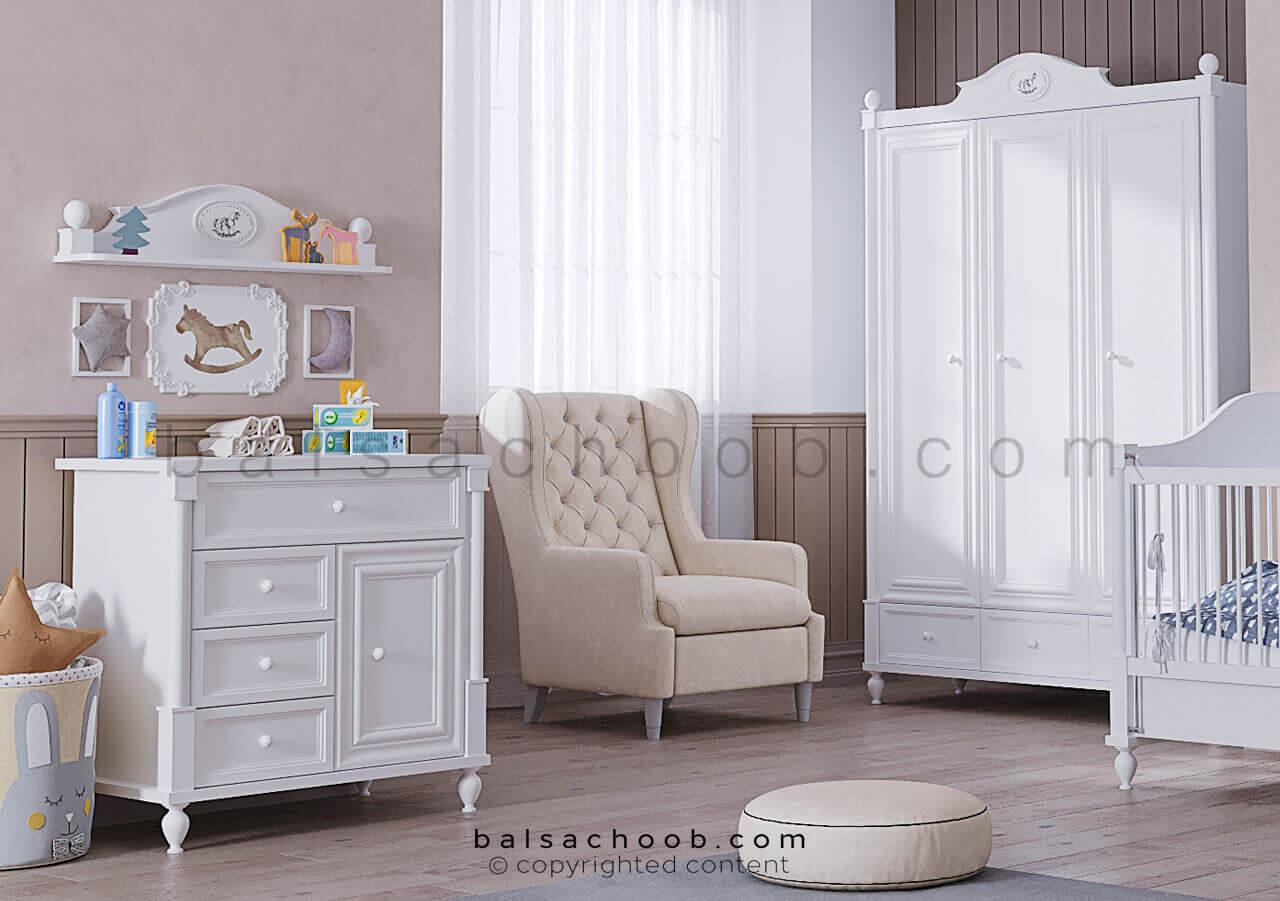 اتاق خواب نوزاد به سبک بالسا
