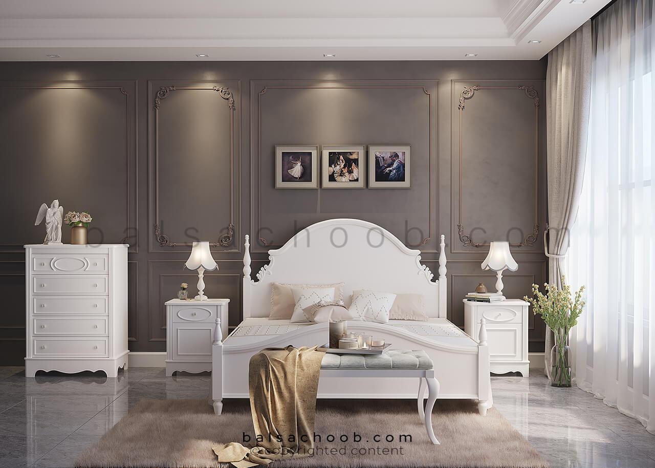 اتاق خواب عروس بالسا به سبک گلوریا