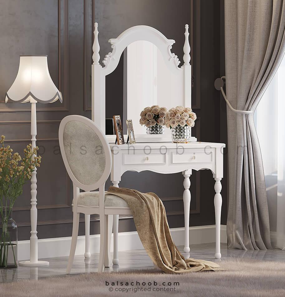 میز آرایش کلاسیک گلوریا
