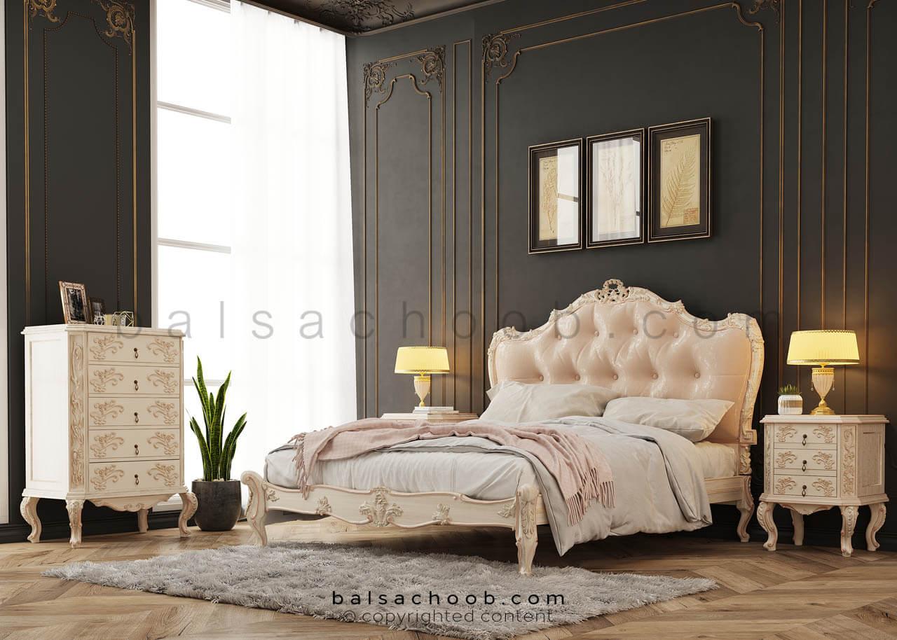 سرویس خواب دو نفره بالسا مدل دانژه
