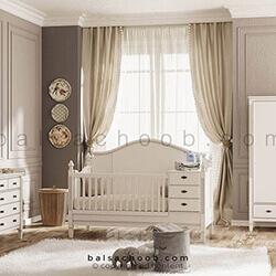 سرویس خواب نوزاد بالسا مدل لیدوما