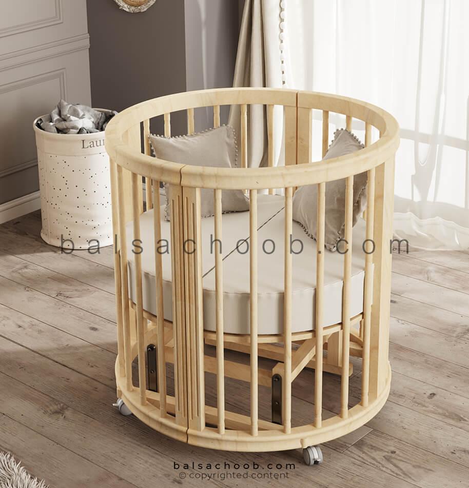 تختخواب نوزادی قابل تبدیل