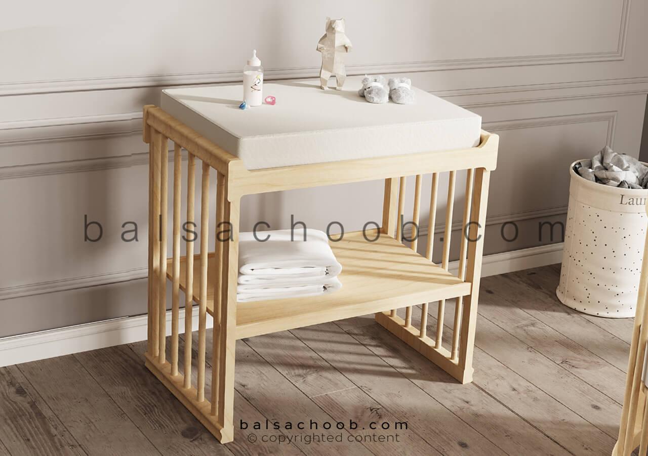 میز تعویض پوشک نوزاد بالسا