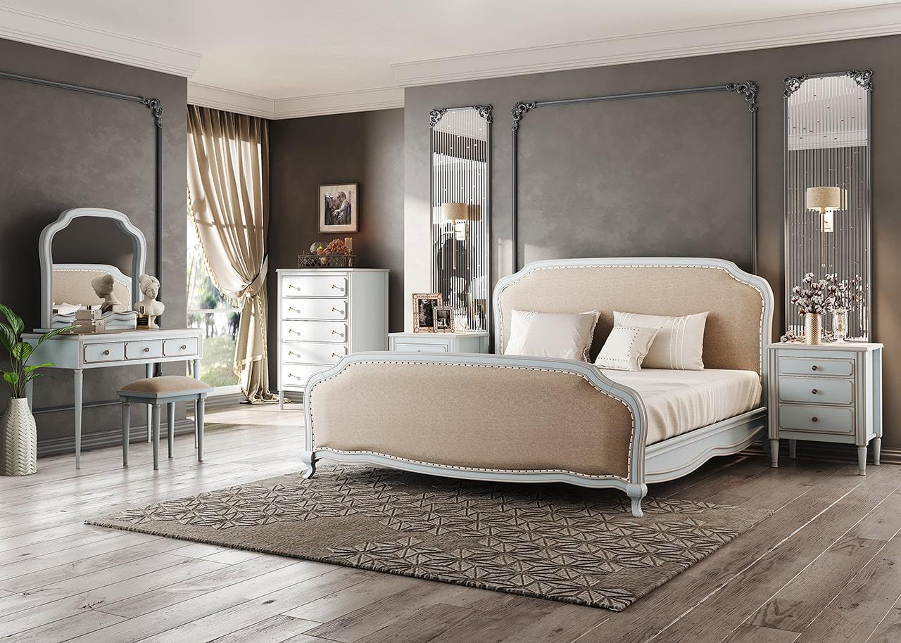 تخت خواب بالسا مدل ویولت
