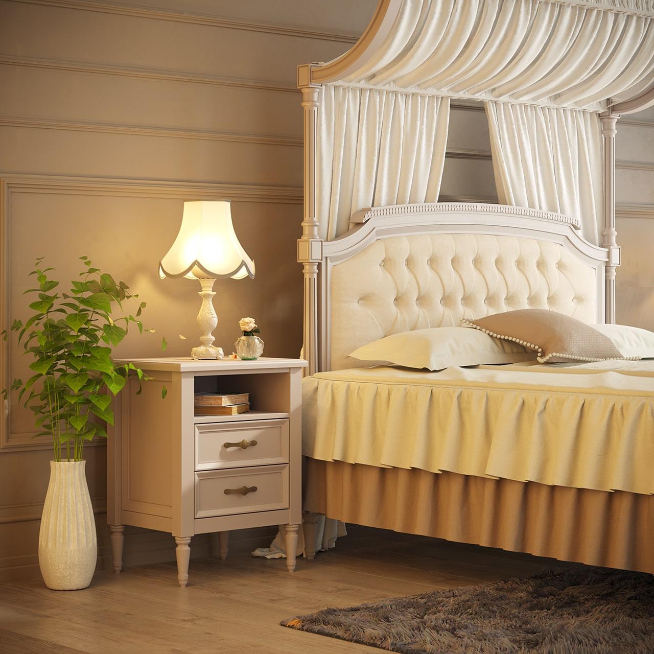 سرویس خواب دو نفره رمانتیک بالسا